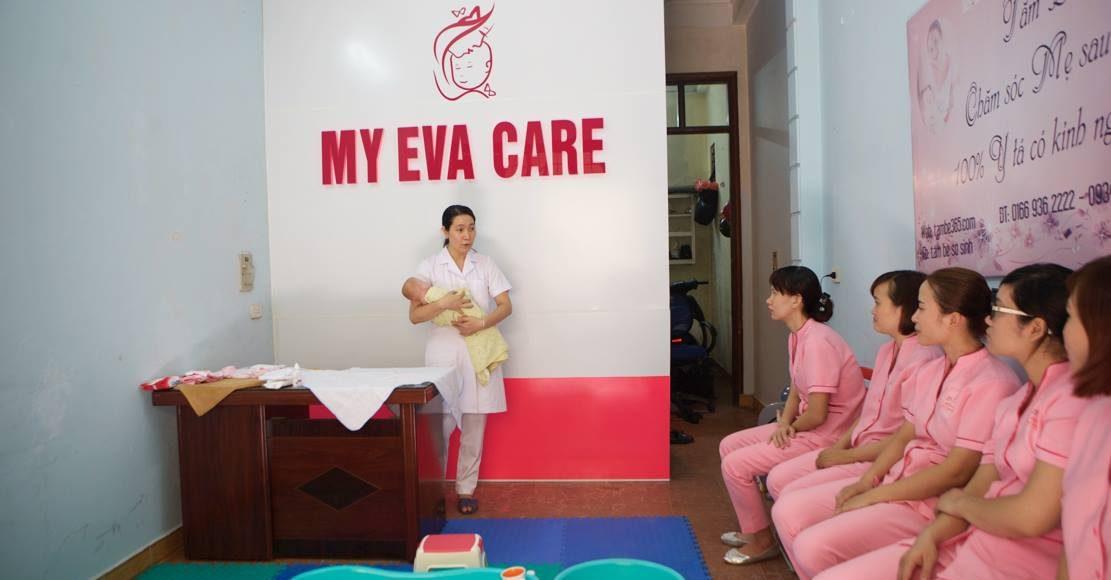 Quay phim giới thiệu dịch vụ tắm bé My Evacare