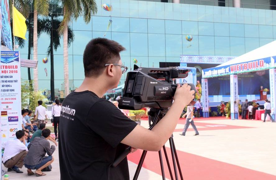 Dịch vụ quay phim sự kiện chuyên nghiệp