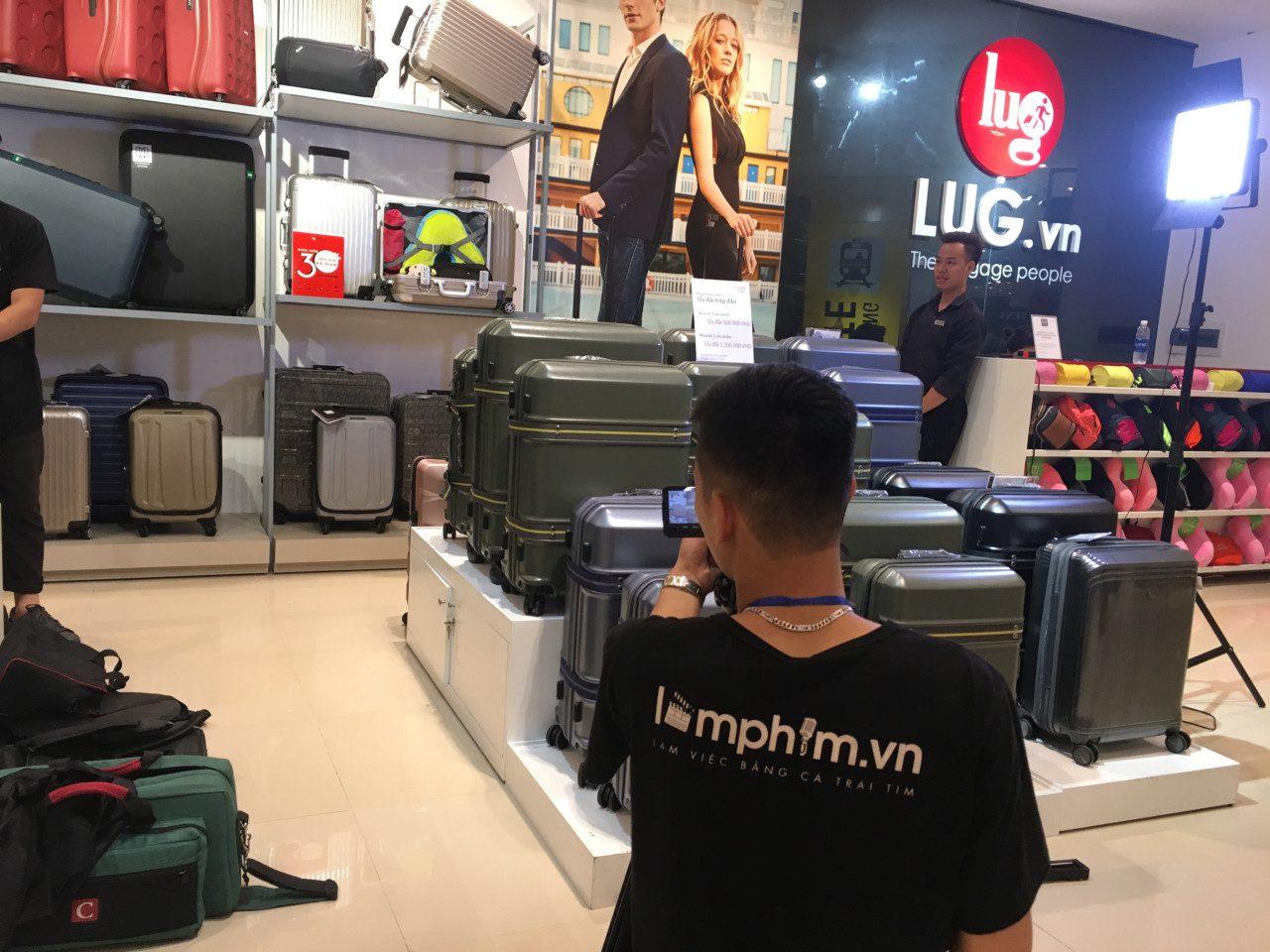 Hậu trường sản xuất TVC quảng cáo Vali thương hiệu LUG.VN